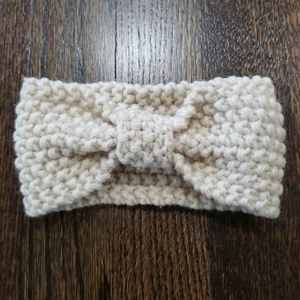 Other - Cream Knitted Headband